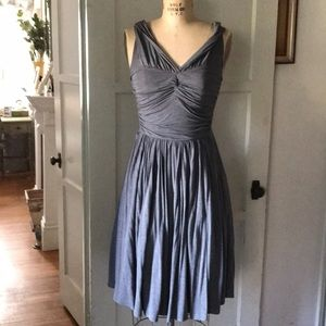 Pretty grey Tracy Reese with crinoline& pockets